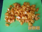 Clafoutis aux abricots & pralines roses