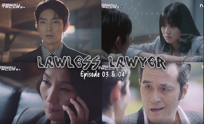 Sortie des épisodes 03 et 04 de Lawless Lawyer