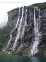 Geiranger fjorden-les sept soeurs