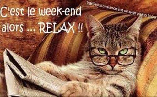 bon vendredi et bon week-end