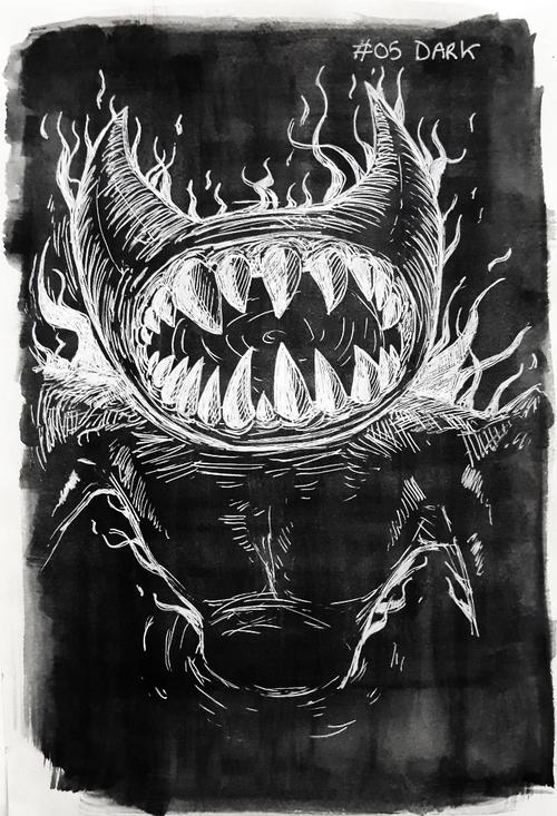 The Ink Demonth 2019 - Jour 1 à 5