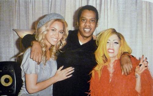 Beyonce & Jay Z apparait dans le livre de Terry Richardson avec Lady Gaga
