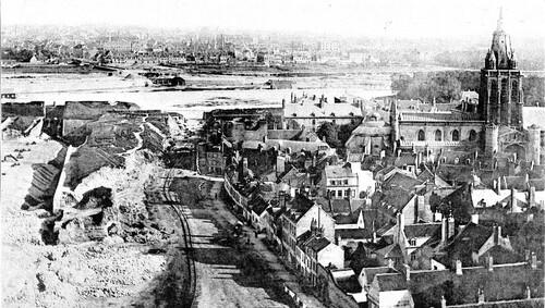 La démolition des fortifications à l'est en 1884
