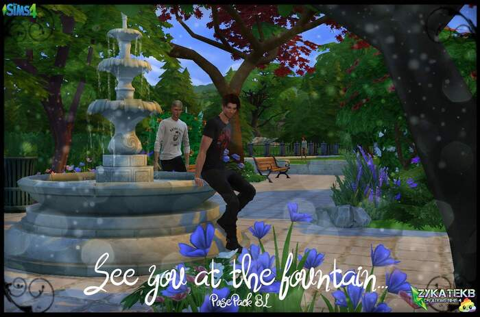 See you at the fountain ...