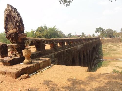 19 février:Siem Reap vers kompong Kdei