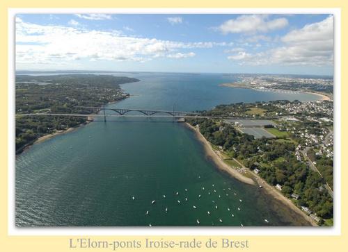 la rade de Brest vue du ciel ! mon pays