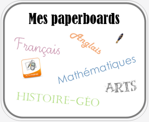 Tous mes paperboards - Activinspire