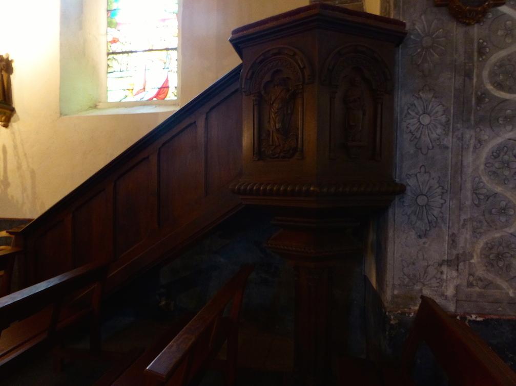 Richesses dans l'église d'Azerat!