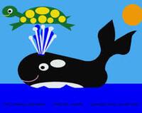 Mascarponneur. Chasseur de baleines qui capture les cétacés en les aspergeant de fromage frais italien