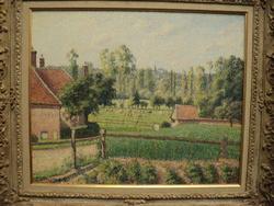 * Visite de l'exposition Camille Pissaro au Musée du Luxembourg