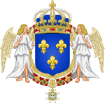 150px-Royal Coat of Arms of France svg