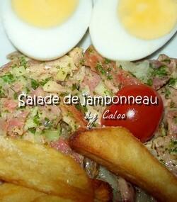 Salade de jambonneau