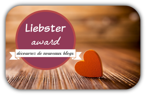 TAG Liebster Award de Virginie