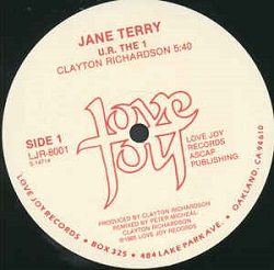 Jane Terry - U.R. The 1