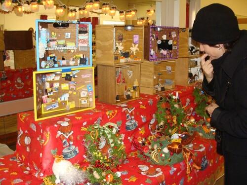 Le marché de Noël de Sainte Colombe
