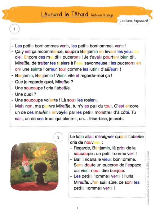 """Léonard le têtard"", Antoon Krings"