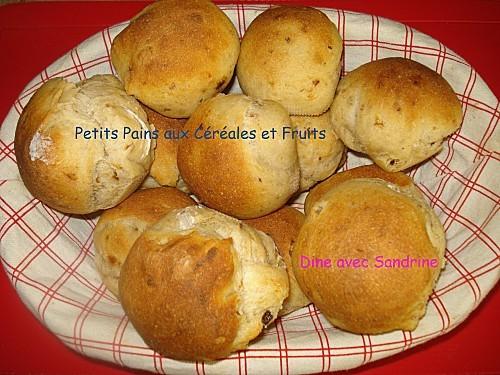 Petits Pains aux Céréales et Fruits 6