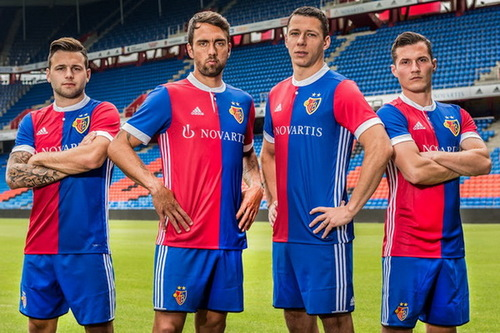 Maillot FC Basel 2017-2018 pas cher