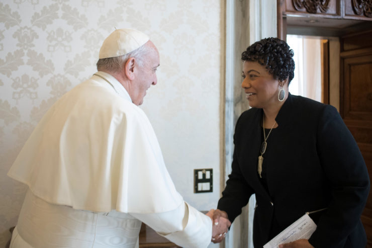 Bernice Albertine King © Vatican Media