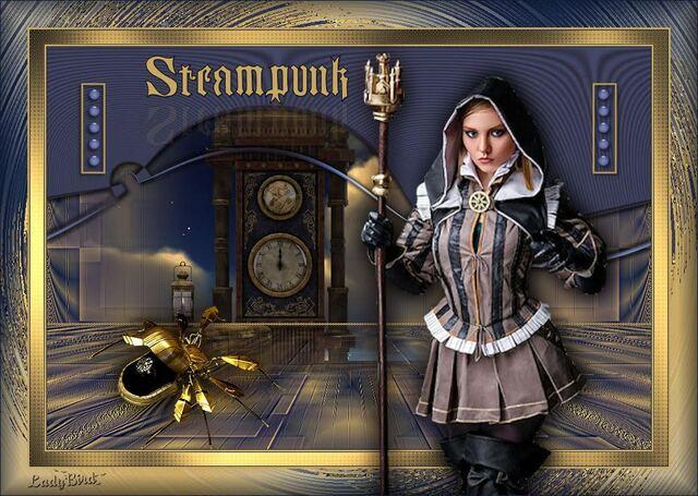 ST0011 - Tube femme steampunk