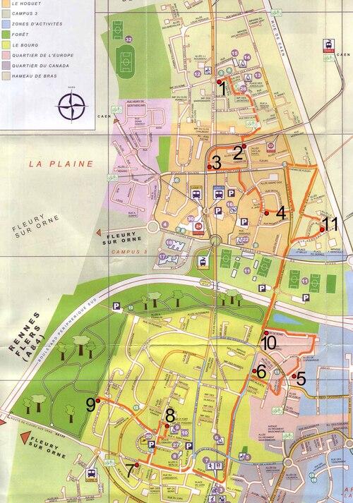Graph'IFS'sme 2 : un circuit possible dans la ville...