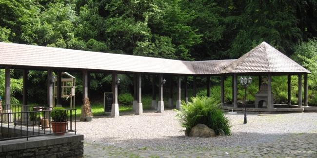 Spa, fontaine de la Sauvenière