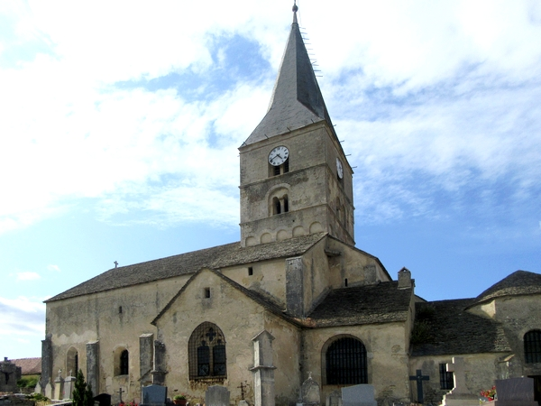L'église Saint-Antonin de Bussy le Grand