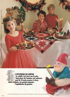 Nappe de Noël