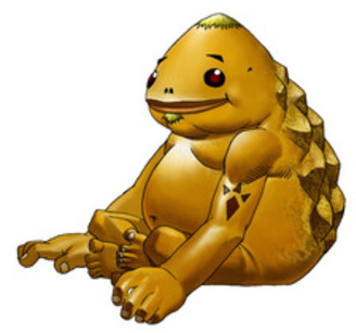 A Goron of the Mountain Tribe - <i>Ocarina of Time 3D</i>