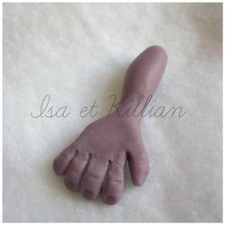 Les mains.....
