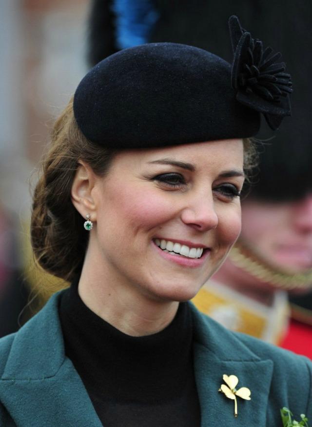 Kate à la Saint Patrick