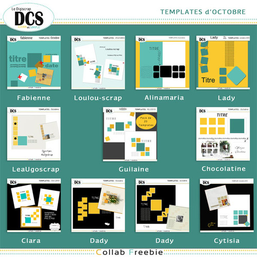 DCS: Template d'Octobre