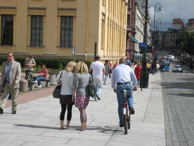 Monsieur Sociotopes rend Oslo aux piétons et aux cyclistes