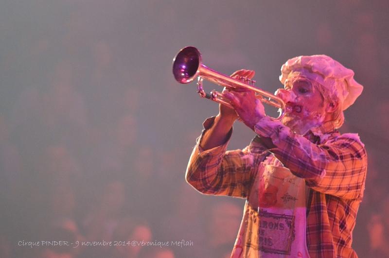 "Cirque Pinder dans Pinder fête ses 160 ans ! les clowns ""Los Pepes"""