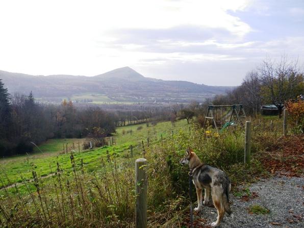 Week-end à la montagne avec Juli