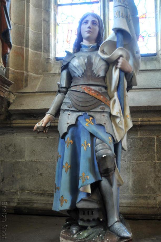 Kernascléden : Sainte Jeanne d'Arc