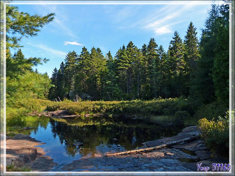 Vue panoramique sur le Lac Gabet - Mauricie - Québec - Canada