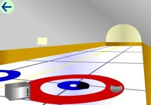 Escape from the curling field