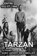 Tarzan (12 films avec Johnny Weissmuller entre 1932 et 1948) : Alors que son père participe à une expédition dont le but caché est la recherche du cimetière des éléphants, Jane rencontre Tarzan et en tombe amoureuse. Après le décès de son père, elle décide de rester avec le seigneur de la jungle. ... ----- ...  Nationalité : USA Casting : Johnny Weissmuller  Genre : Aventure