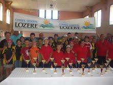 TOURNOI ECOLE DE BOULE - LANGOGNE 2011