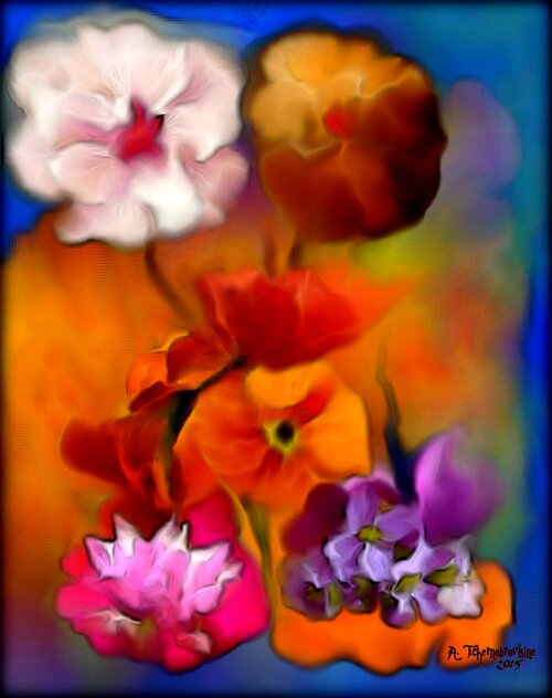 Les fleurs de Noêl