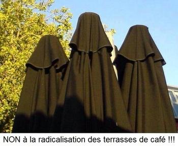 NON à la radicalisation des terrasses de café !!! a