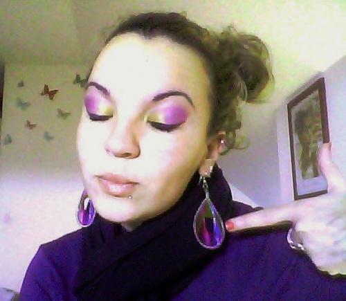 MUSJ violet/doré