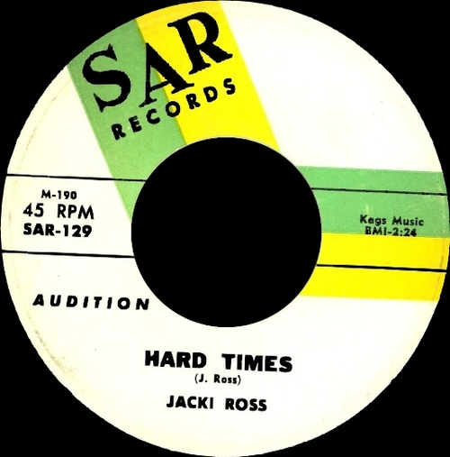 "Jackie Ross : Album "" Full Bloom "" Chess Records 1489 [ US ]"