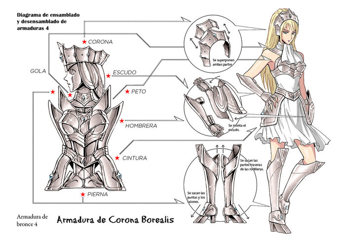 XIII - Armure de la Couronne Boréale (Corona Borealis Cloth)