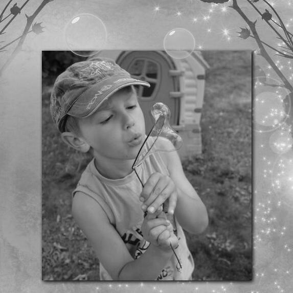 Blog de sylviebernard-art-bouteville : sylviebernard-art-bouteville, Mattéo et Nohan - Apprendre à faire des bulles - Juillet 2013
