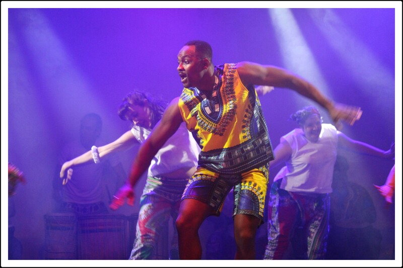 Spectacle de danse africaine.