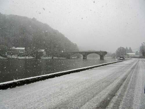 Bohan sous la neige pendant 1 jours
