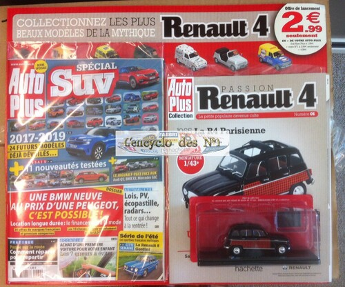 N° 1 Passion Renault 4 - Test
