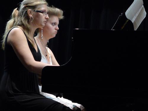 BELLE REUSSITE POUR LE CONCERT DE PIANO